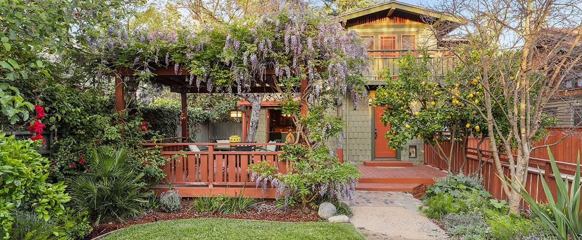 Craftsman Garden Bungalow in Pasadena in Pasadena Hero Image in Bungalow Heaven, Pasadena, CA