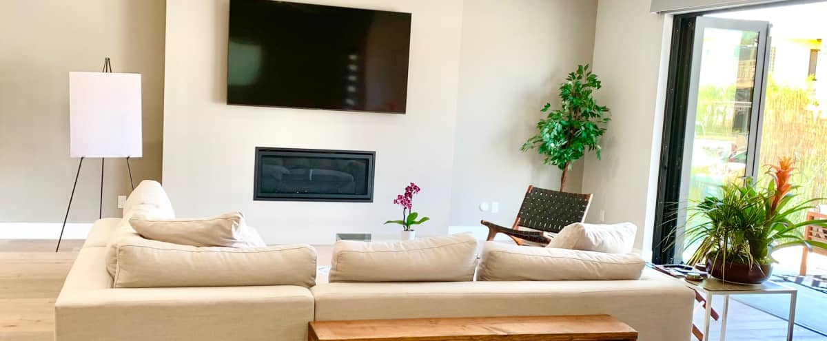 Indoor/Outdoor Modern Beach Retreat With 360 Degree Roof Top Views Of Ocean, City, Mountains in Long Beach Hero Image in Belmont Shore, Long Beach, CA