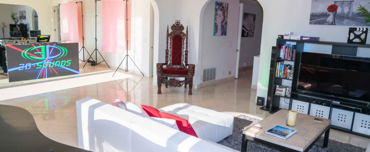 Hollywood Hills Production Mansion w/ Recording Studio/Vocal Booth in Los Angeles Hero Image in Central LA, Los Angeles, CA