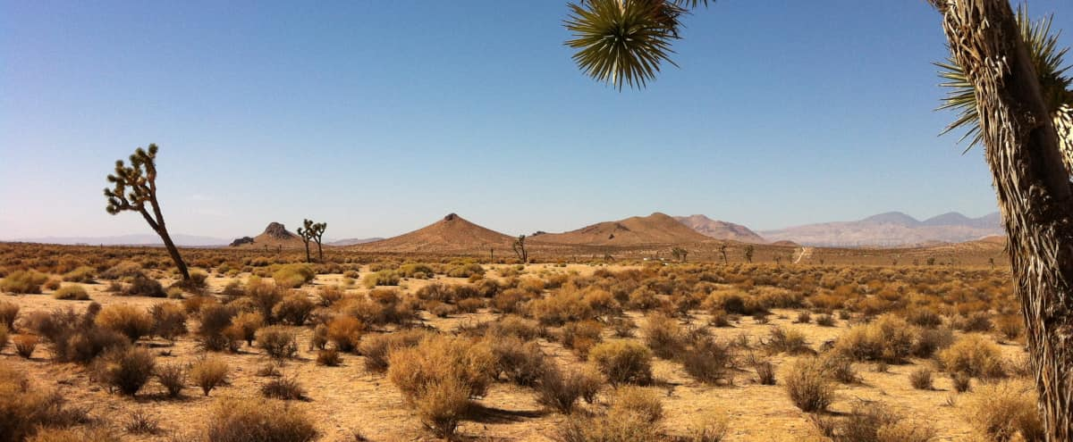350 Acre Mojave Desert Apocalyptic Production Location in Mojave Hero Image in undefined, Mojave, CA
