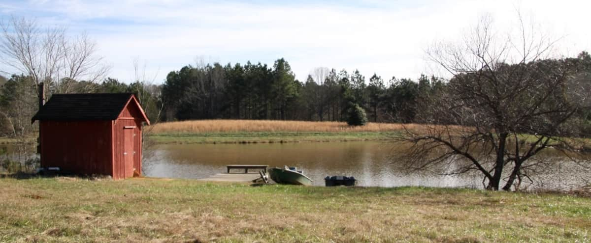 Deep South  - Old Barn,  Historic homes, Pond w/ dock,  Shooting range on 100 + acres in Palmetto Hero Image in undefined, Palmetto, GA