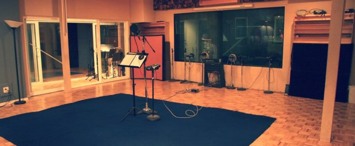 Spacious Recording Studio available for events in Anaheim Hero Image in Northeast Anaheim, Anaheim, CA