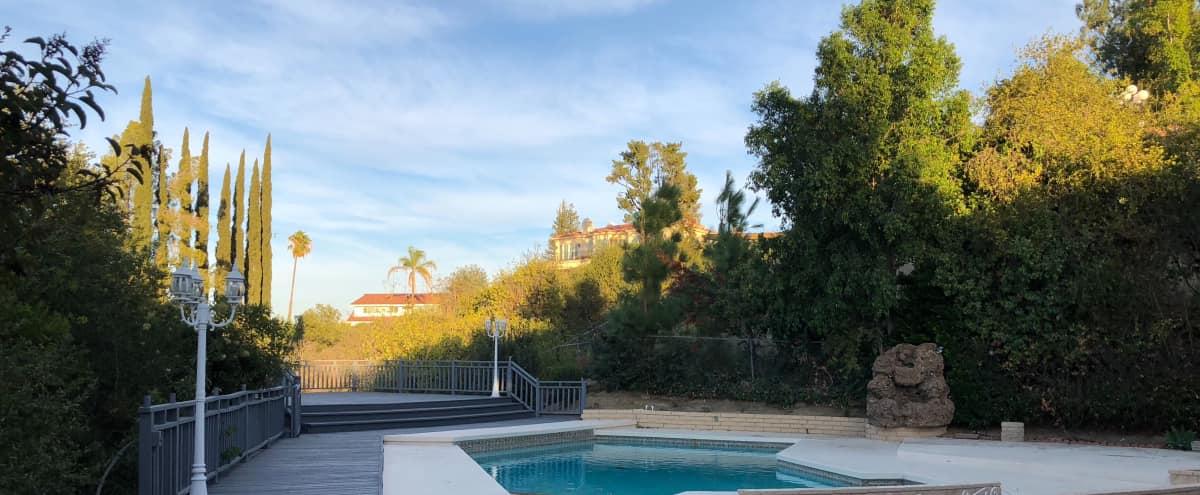 Recently Renovated Large Home with Amazing View in Tarzana Hero Image in Tarzana, Tarzana, CA