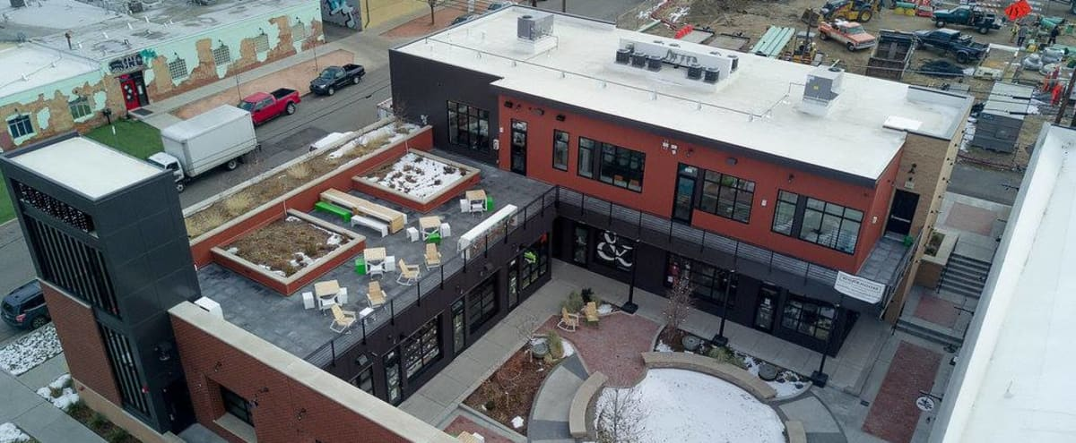 Spacious Rooftop for Outdoor Shoots in the RiNo Art District in Colorado Hero Image in Five Points, Colorado, CO