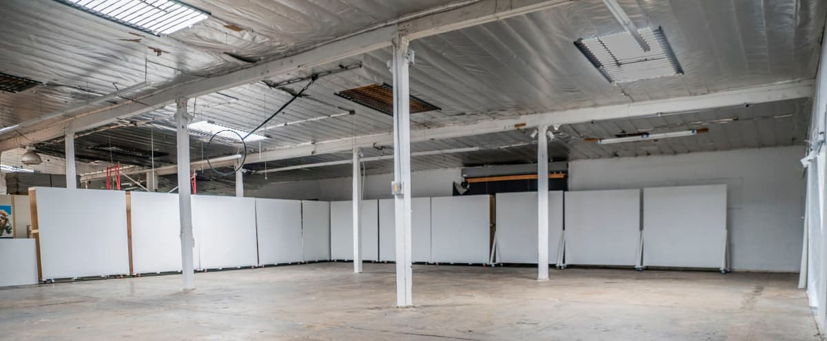 Art warehouse and photo studio, character at every turn, professional amenities, multi-unit space with outdoor garden! in Los Angeles Hero Image in Central LA, Los Angeles, CA