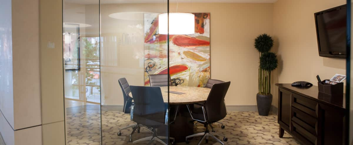 Downtown Seattle Conference Room in Luxury Building in Seattle Hero Image in Downtown, Seattle, WA
