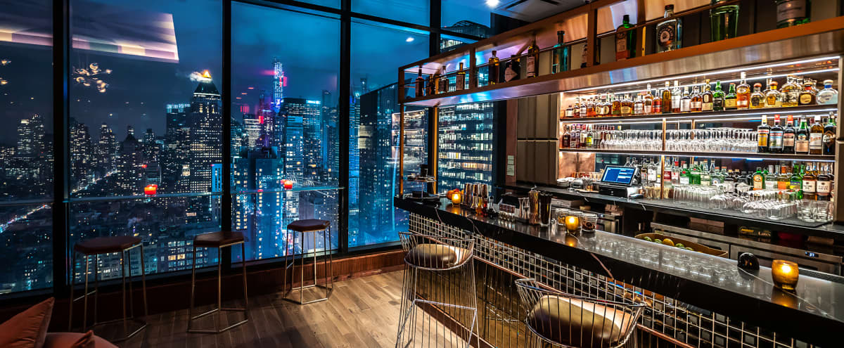 Rooftop lounge with amazing views! in New York Hero Image in Midtown Manhattan, New York, NY