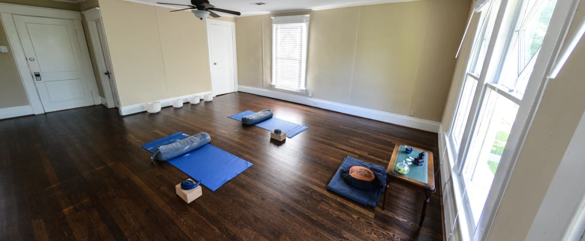 Cozy Yoga Studio in Montrose Bungalow in Houston Hero Image in Montrose, Houston, TX