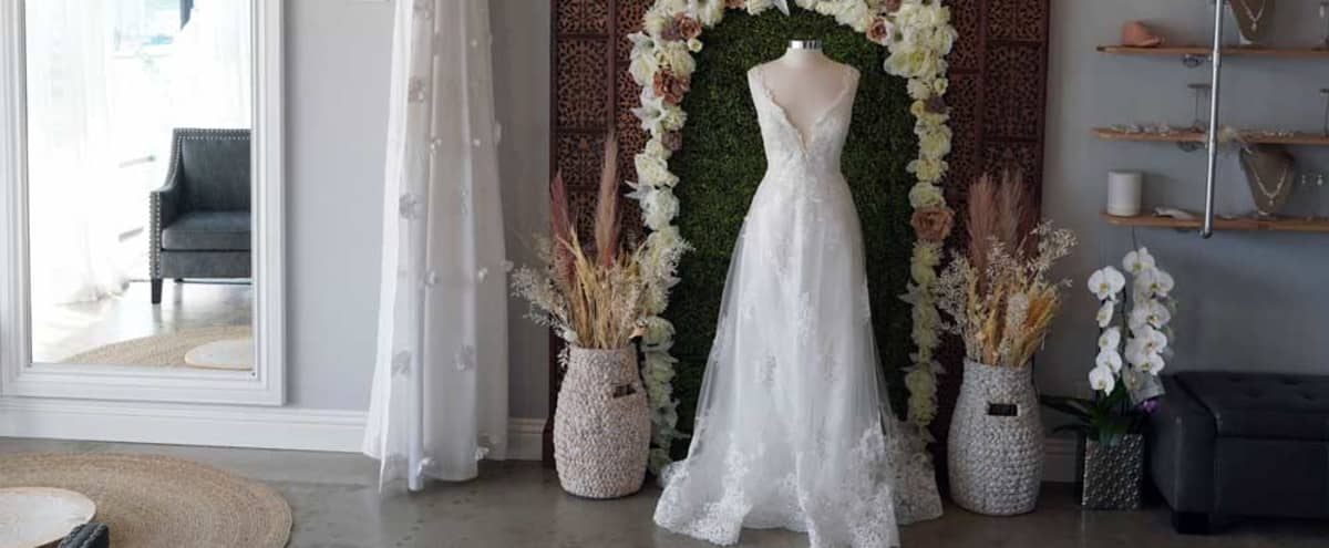 Beautiful BoHo Bridal Salon Event Space in Torrance Hero Image in Old Town Torrance, Torrance, CA