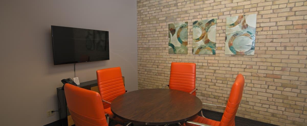 Industrial Style Meeting Space - Warehouse District - 4 People in Minneapolis Hero Image in North Loop, Minneapolis, MN
