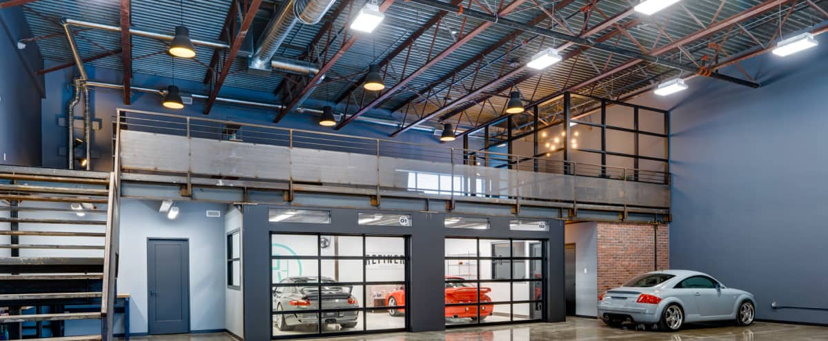 Industrial-Chic Downtown Warehouse Loft With Interior Vehicle Access in Toronto Hero Image in Port Lands, Toronto, ON