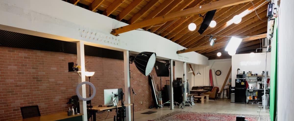 Industrial Studio with Flexible Set Design in Los Angeles Hero Image in Crenshaw, Los Angeles, CA