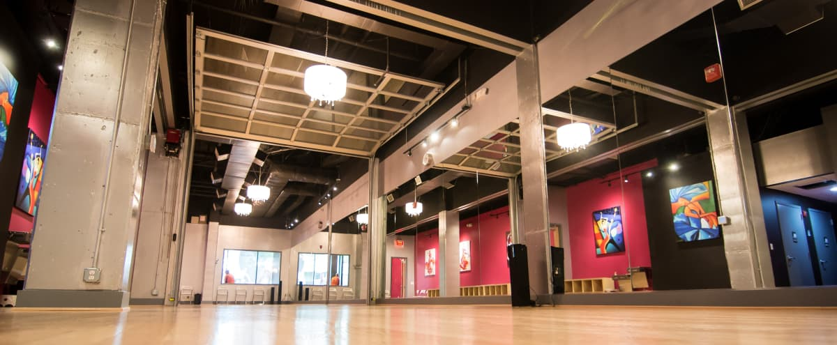Luxury Intimate Ballroom | Available for Media Productions | Near Downtown DC in WASHINGTON Hero Image in Park View, WASHINGTON, DC