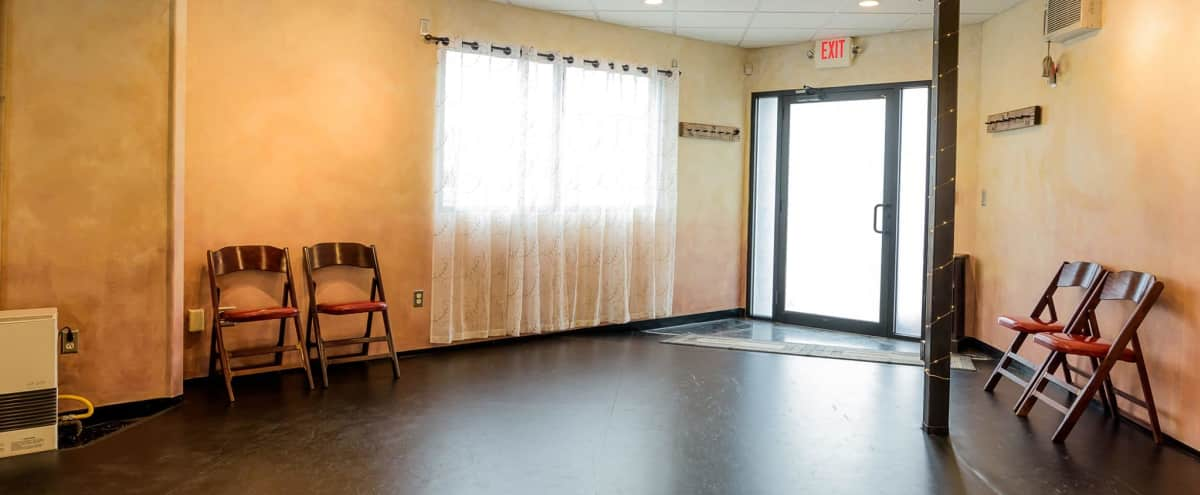 Peaceful Private Space for Dance, Creative, or Healing Arts in Hyde Park, Boston in Hyde Park Hero Image in Stony Brook / Cleary Square, Hyde Park, MA