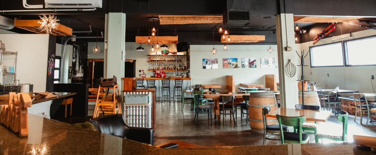 Southwest Portland Restaurant & Event Space with Pacific Northwest Vibe in Portland Hero Image in South Portland, Portland, OR
