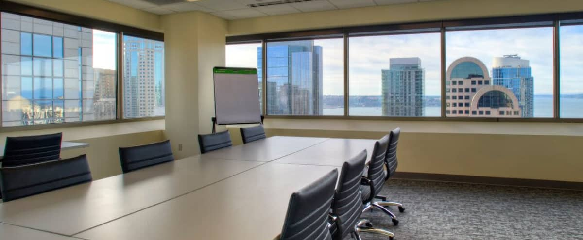 Downtown Meeting Space with Breathtaking Views of Puget Sound in Seattle Hero Image in Central Business District, Seattle, WA