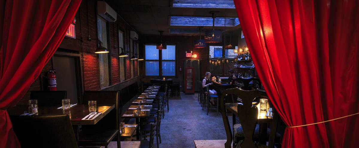 Sexy and Intimate Bar Venue Speakeasy in brooklyn Hero Image in East Williamsburg, brooklyn, NY