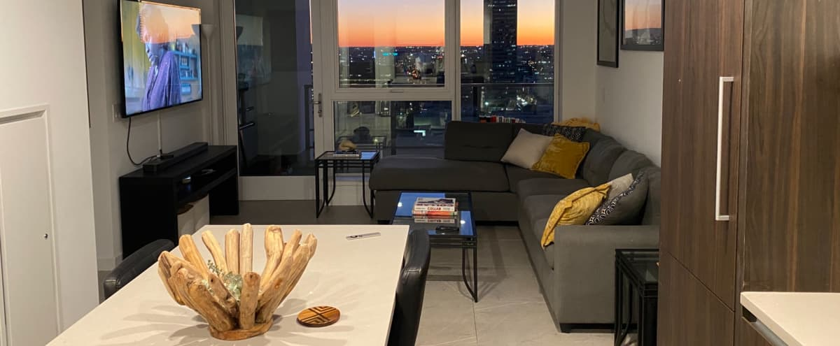 Downtown High Rise Loft with Skyline View in Los Angeles Hero Image in Central LA, Los Angeles, CA
