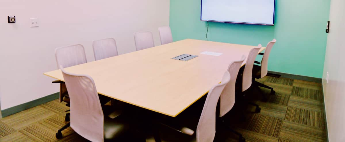 Spacious 10 Person Conference Room in San Mateo Hero Image in East San Mateo, San Mateo, CA
