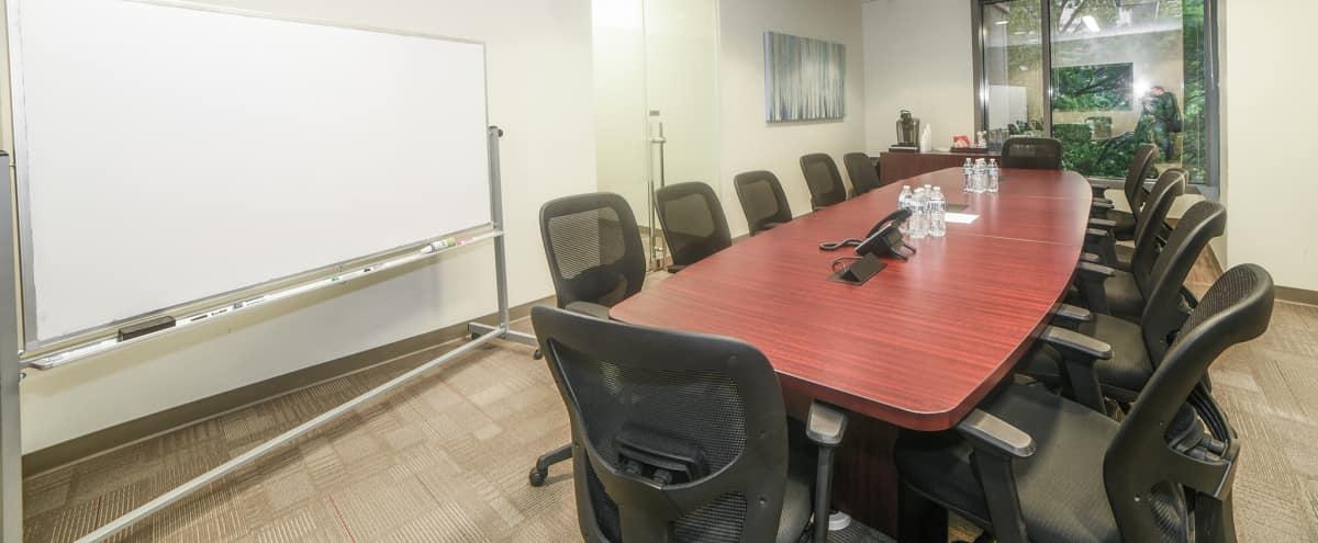 14 Person Production Corporate Meeting & Presentation Room in Atlanta Hero Image in Buckhead, Atlanta, GA