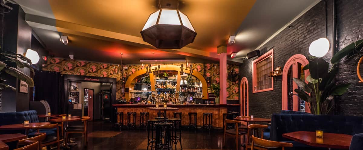 Nightclub, Cocktail bar and Restaurant in Brooklyn Hero Image in Williamsburg, Brooklyn, NY