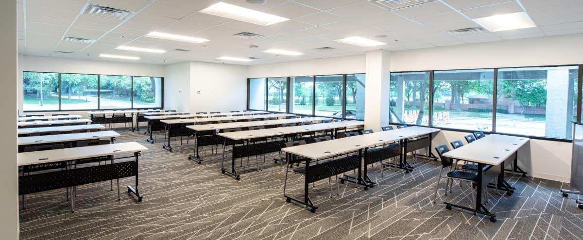 High-Tech Training Room & Classroom Event Space for 50 in Dallas Hero Image in Far North Dallas, Dallas, TX