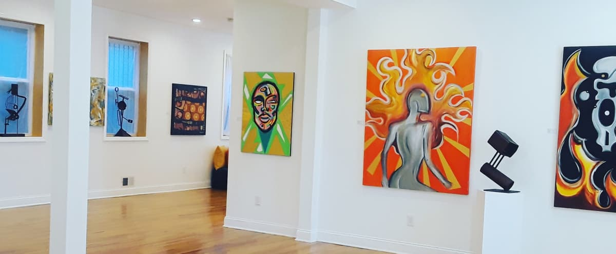 Trendy Art Gallery in newark Hero Image in Fairmount, newark, NJ