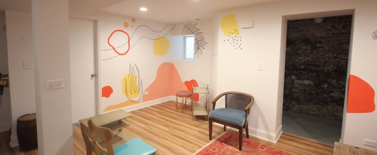 Colorful, Artistic Ukrainian Village Apartment in Chicago Hero Image in West Town, Chicago, IL