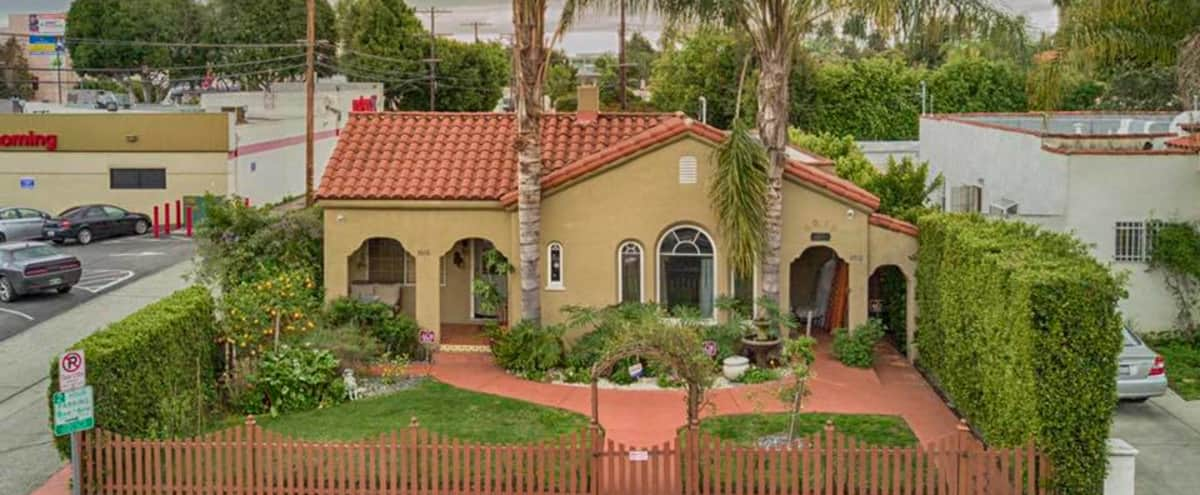 Spanish Style Duplex with Gazebo / Deck in West LA in Los Angeles Hero Image in Pico - Robertson, Los Angeles, CA