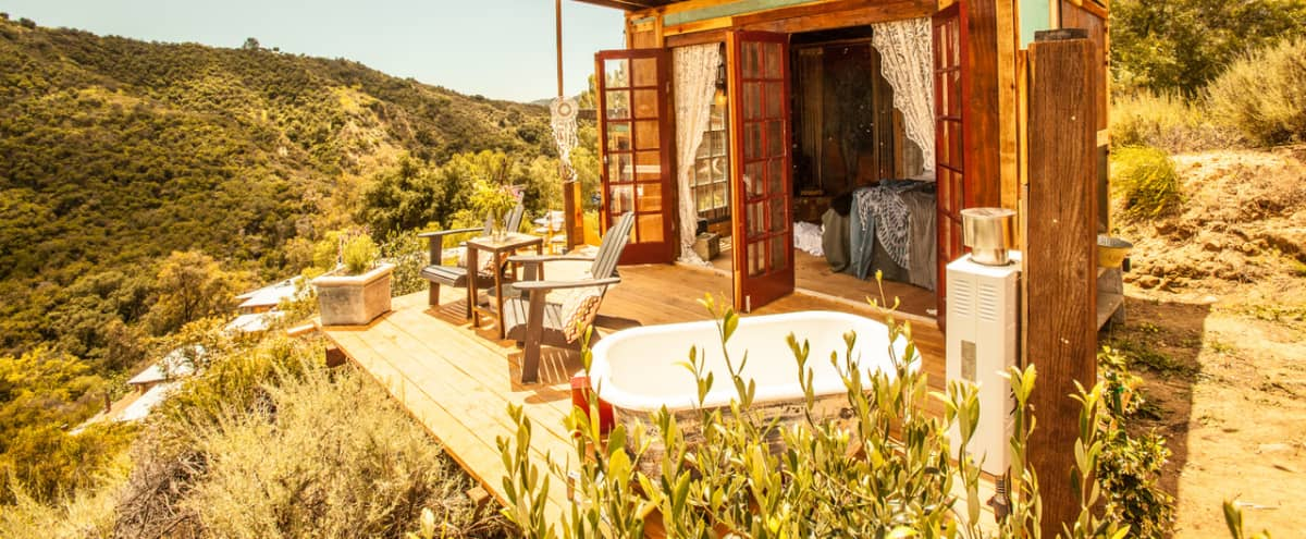 Top of the Hill Tiny House in the rustic Topanga canyon in TOPANGA Hero Image in undefined, TOPANGA, CA