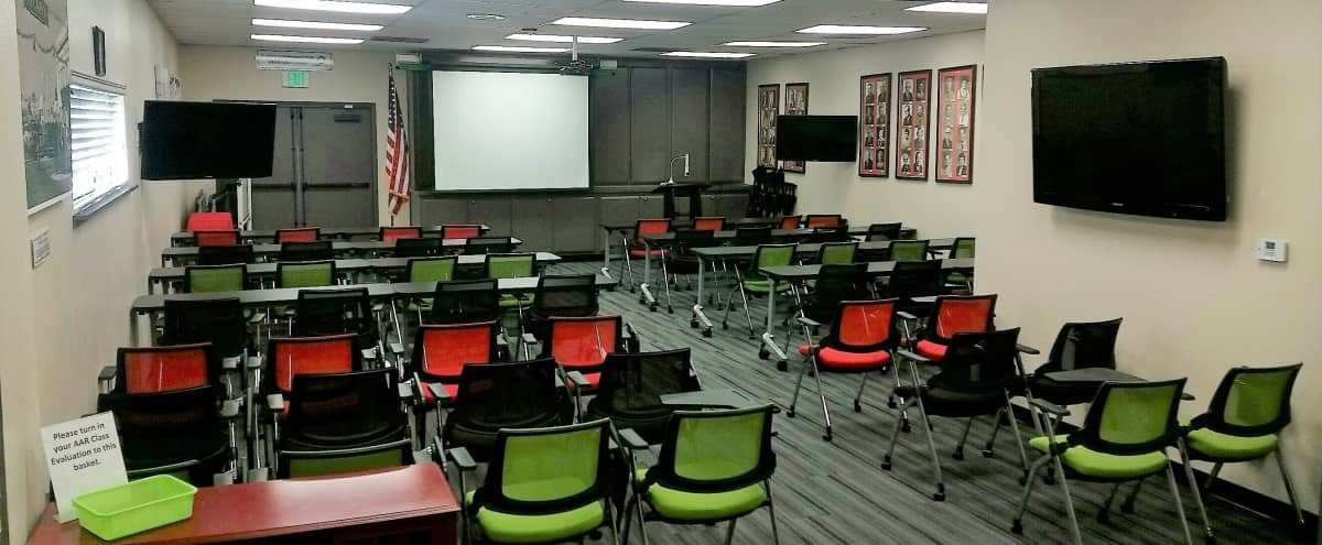 Classroom  |   Event Space  |  Boardroom  |  Single Story  |  Tons of Parking in Arcadia Hero Image in undefined, Arcadia, CA