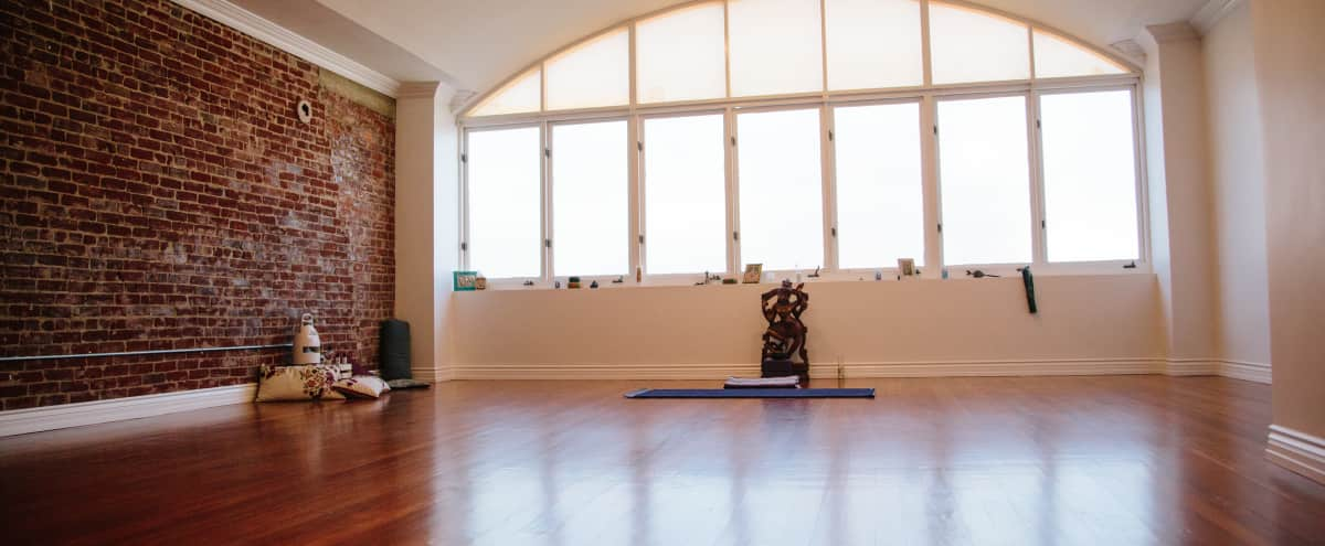 Historic Downtown - Spacious Yoga Studio in Long Beach Hero Image in Downtown, Long Beach, CA