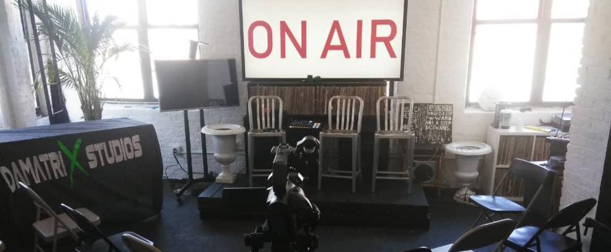 Versatile Broadcasting, Recording Studio, Radio & Photography Loft Space in Bronx Hero Image in East Bronx, Bronx, NY