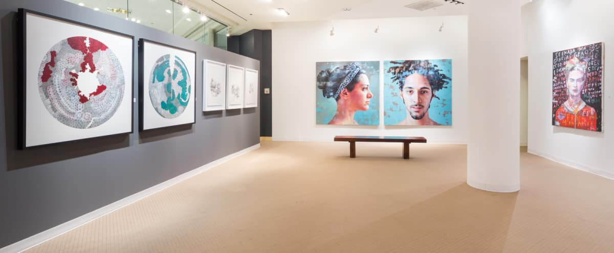 Spacious Two-floor Downtown Art Gallery in Chicago Hero Image in Streeterville, Chicago, IL