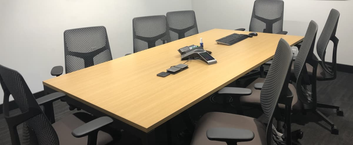 8 person high tech conference room in Lewisville Hero Image in undefined, Lewisville, TX