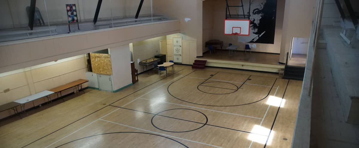 Indoor Basketball Court and Community Center with Basement in Los Angeles Hero Image in South Los Angeles, Los Angeles, CA