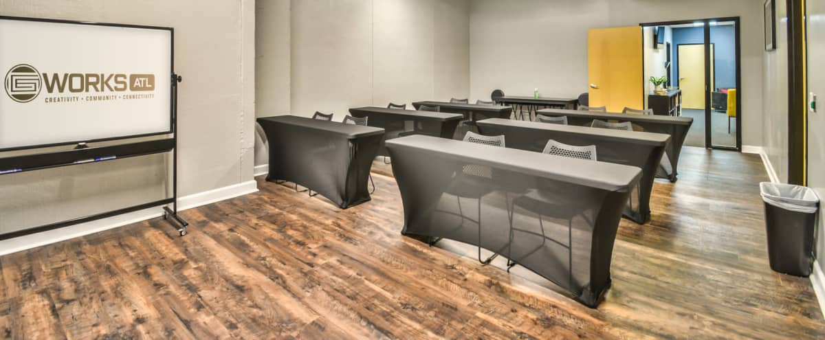 Versatile Training + Event Space with access to Lounge Area in the Heart of Atlanta in Atlanta Hero Image in Downtown Atlanta, Atlanta, GA