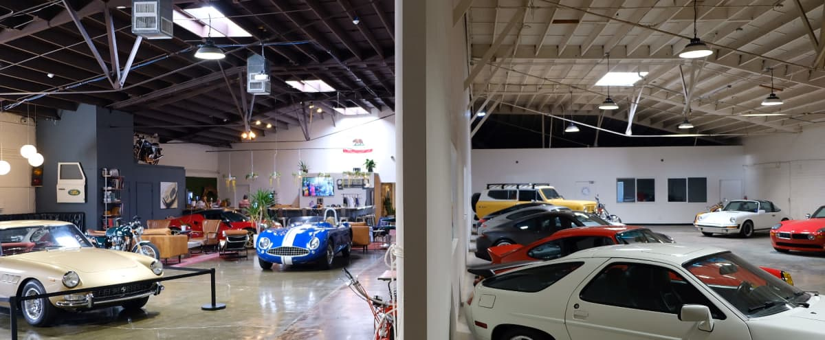 Unique Warehouse with 11k Sq ft of Cars w/ Bar + Lounge    Westside Car Club Warehouse in Marina del Rey Hero Image in undefined, Marina del Rey, CA