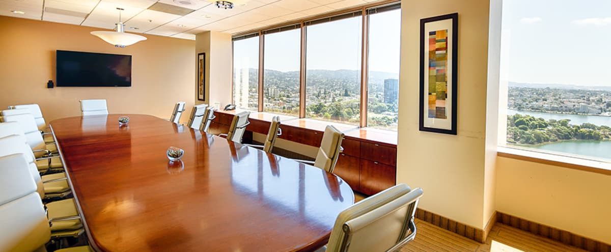 14 Person Conference Room in Oakland Hero Image in Downtown Oakland, Oakland, CA