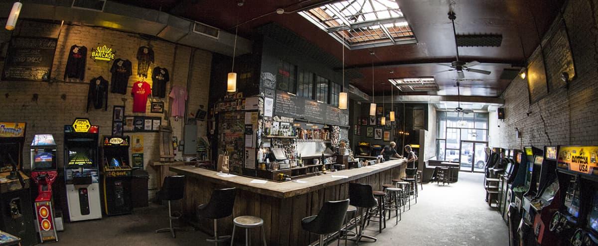 Arcade Bar in Williamsburg in Brooklyn Hero Image in Williamsburg, Brooklyn, NY