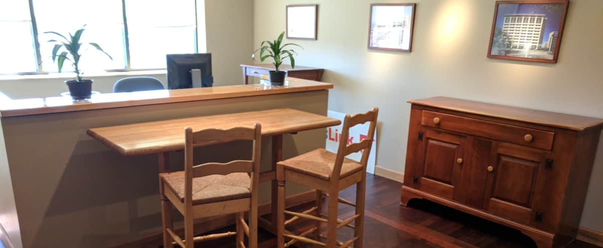 Client Open House Space and Event Space with Bar for up to 20 People in Glenview Hero Image in Glenview, Glenview, IL