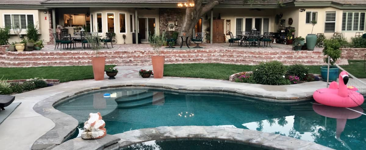 Santa Clarita Valley Beautiful Large Ranch House plus Rustic 1931 Guesthouse for Filming in Newhall Hero Image in Saugus, Newhall, CA