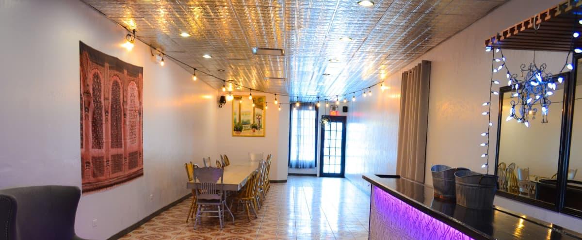 Versatile gallery w/reflective ceiling, lit bar & free parking in Berwyn Hero Image in Berwyn, Berwyn, IL