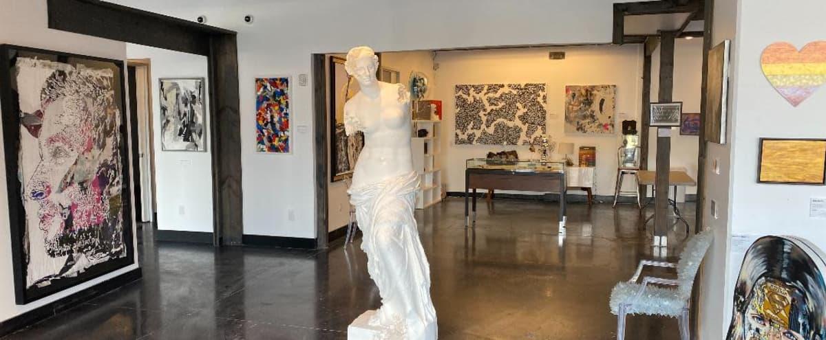 Contemporary Art Gallery in the Design District in Dallas Hero Image in Design District, Dallas, TX