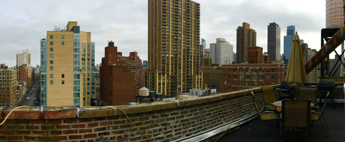 Private Upper West Side Penthouse Rooftop - 2000 sf Panoramic Views of the city in New York Hero Image in Lincoln Square, New York, NY