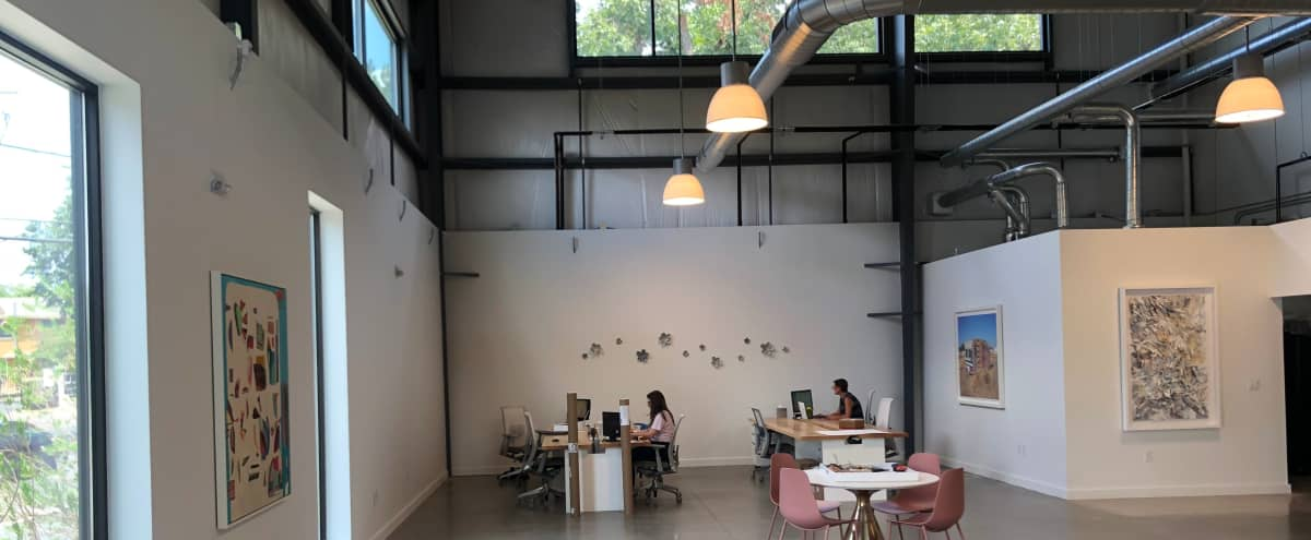 Light Filled Art Gallery / Creative Office in Austin Hero Image in MLK-183, Austin, TX