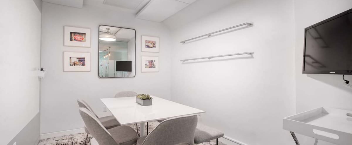Small Meeting Room - Tech Equipped - Seats 6 People in New York Hero Image in Midtown, New York, NY