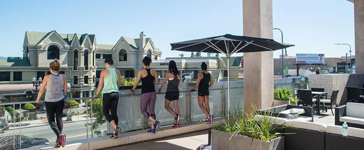 Trendy spacious fitness studio in Tarzana Hero Image in Tarzana, Tarzana, CA