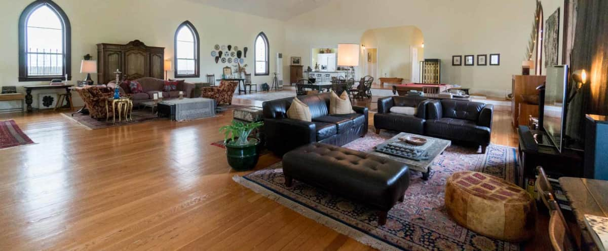Restored Church and Creative Studio with 26ft Ceilings in Richmond Hero Image in Point Richmond, Richmond, CA