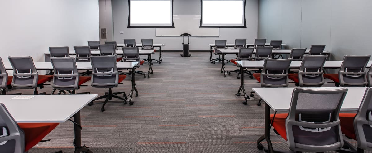 Multi-Use Classroom Space Perfect For Trainings and Workshops in Phoenix Hero Image in Central City, Phoenix, AZ